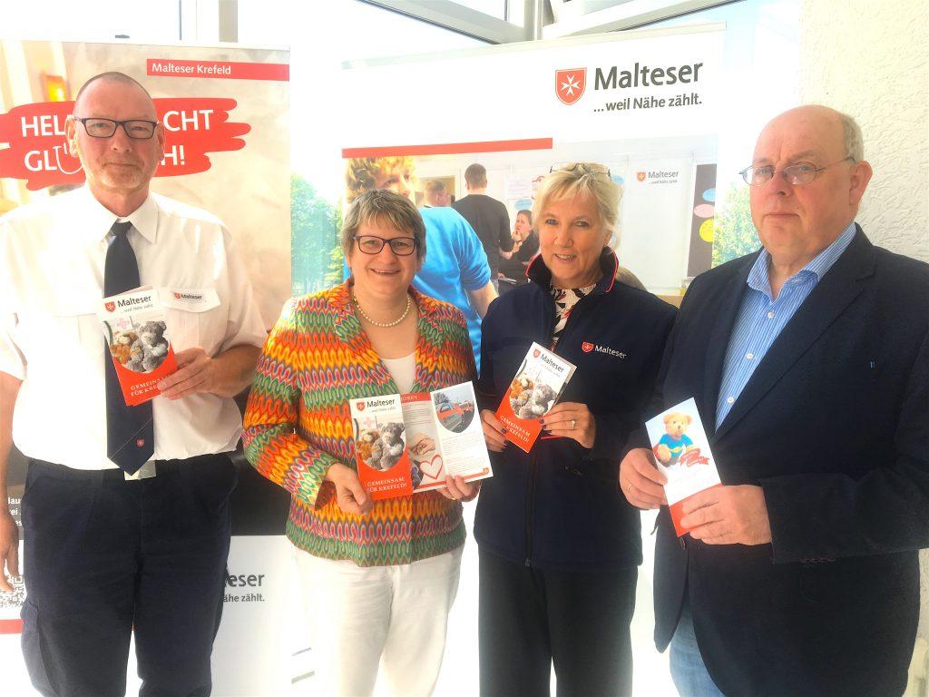 Unterstützerin und Schirmherrin für Malteser-Demenzlotsen