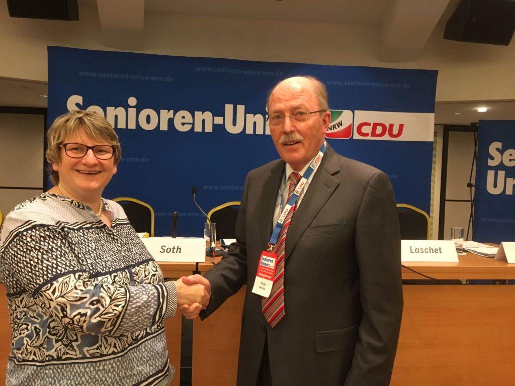 Besuch bei der Landesdelegiertenversammlung der Senioren Union NRW