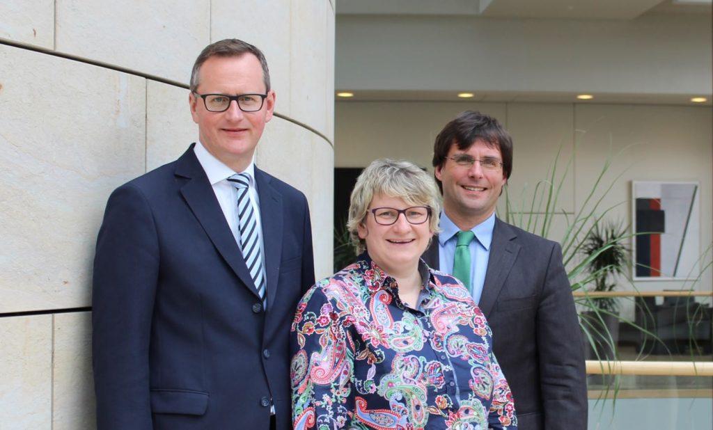 CDU Landtagsabgeordnete Berger, Oellers und Optendrenk: Arbeit der Polizei im Kreis wird gestärkt: Der Regierungswechsel wirkt