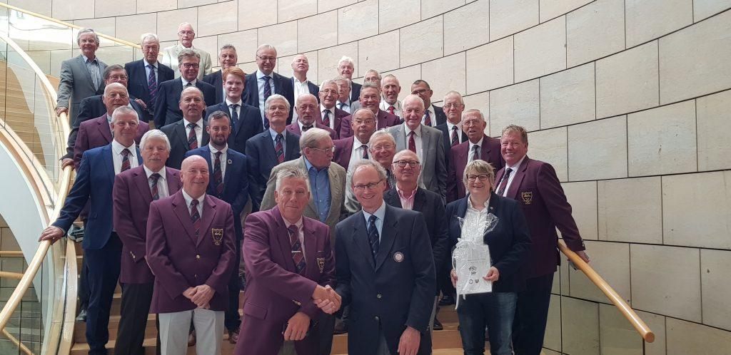 Besuch aus England im Landtag