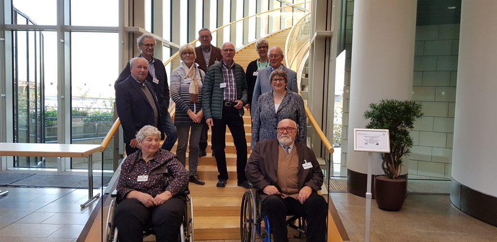 Krefelder Seniorenbeirat zu Besuch im Landtag