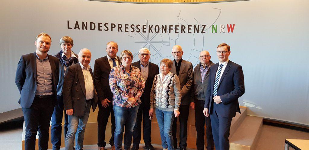 Besuch des Vorstandes der CDU Tönisvorst im Landtag
