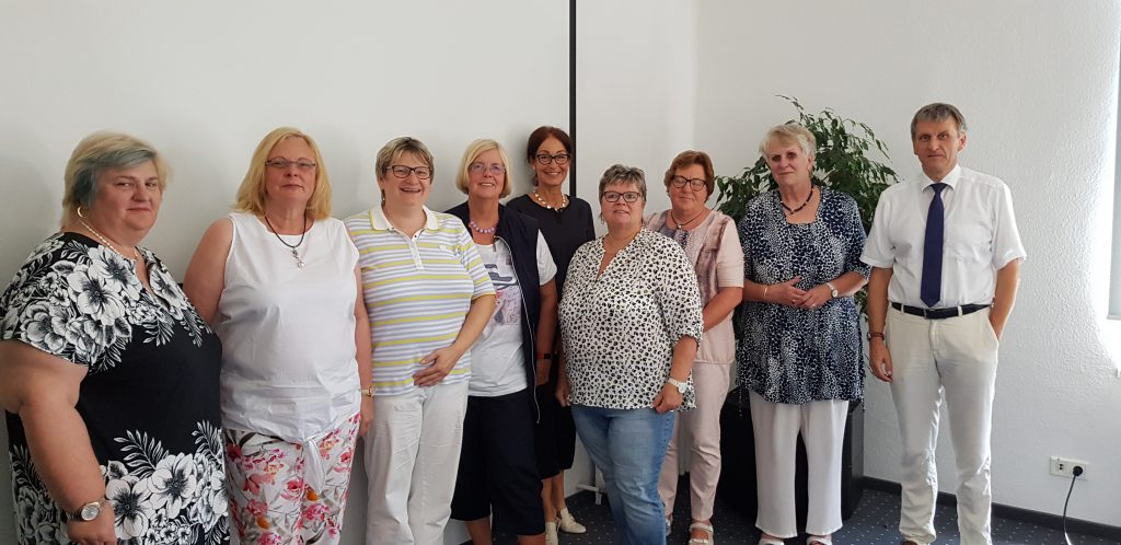 AK Pflege der Frauen Union NRW zu Gast bei den Städtischen Seniorenheimen Krefeld