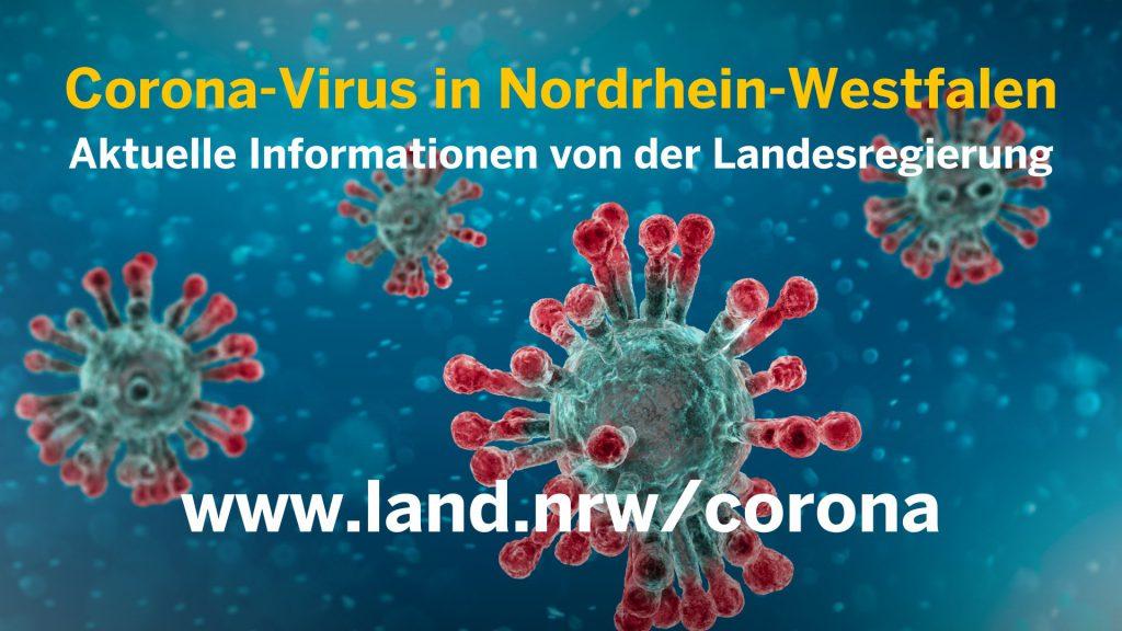Corona-Virus in Nordrhein-Westfalen