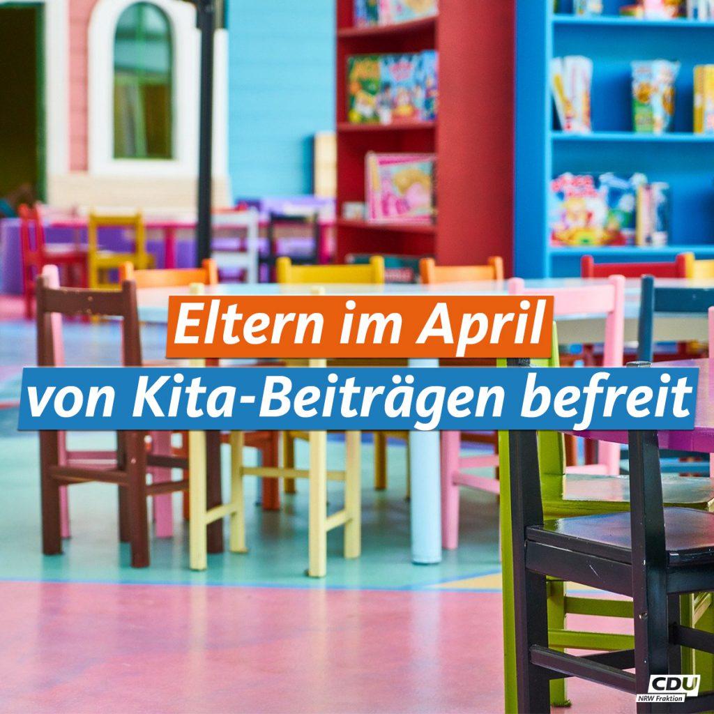 KITA-Beiträge für April werden erlassen